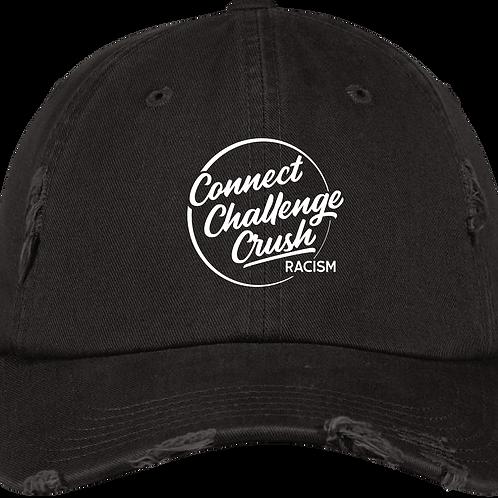 Connect-Challenge-Crush Distressed Cap
