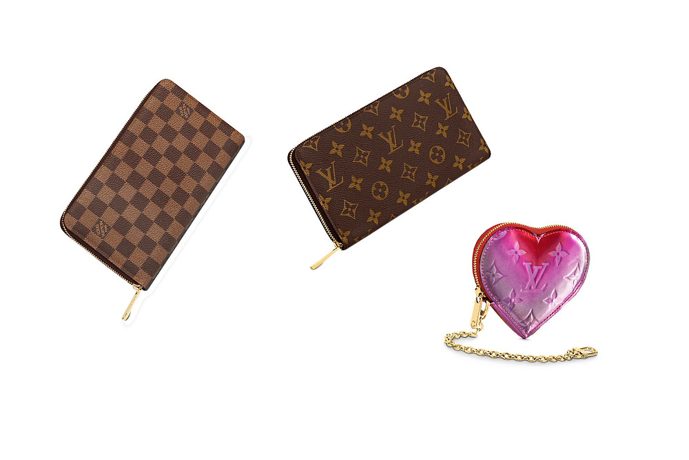 Louis Vuitton Zippy Organizer Heart Coin Case