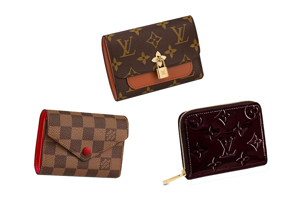 Louis Vuitton compact wallets