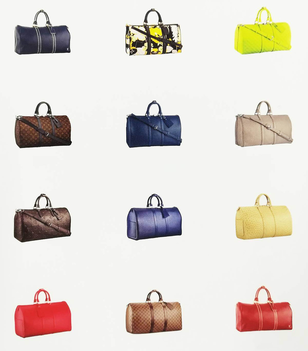 Vintage Louis Vuitton Keepall bags