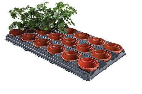 Frø- og stiklingsbrett (18 x 9 cm potter)