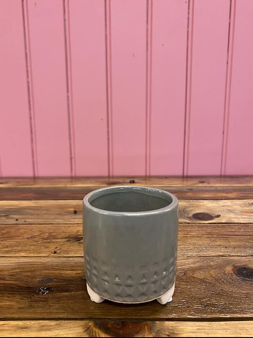 Potteskjuler desert grey border 7x7cm