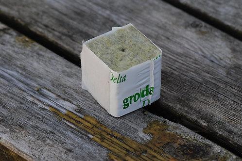 Steinullblokk m/plast