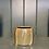 Thumbnail: Potteskjuler bendt square liten, 8.5x9cm