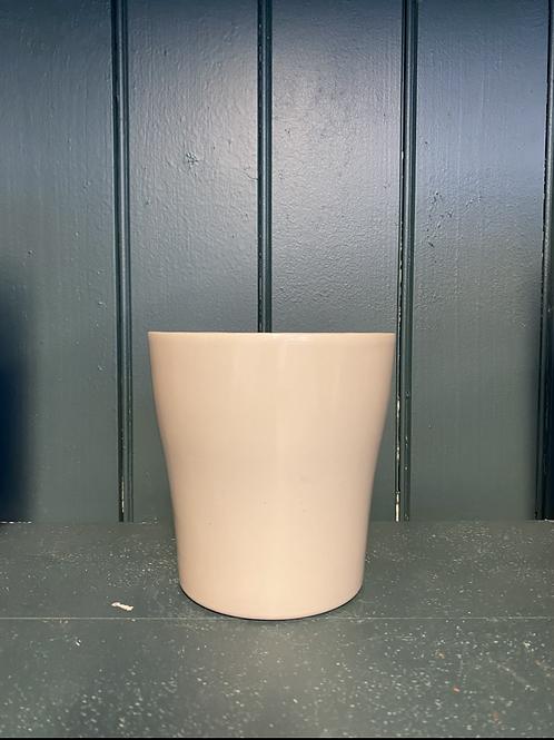 Potteskjuler white clay 12x13cm