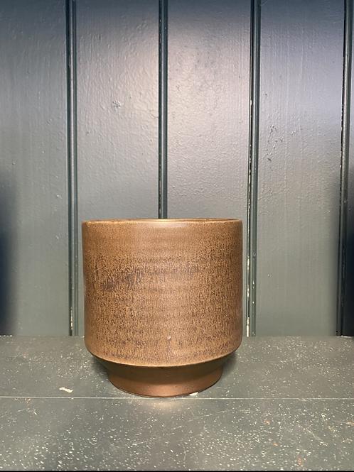 Potteskjuler pine brown , 12.5x13cm