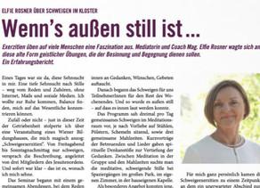 Feature im Magazin Lebenswert