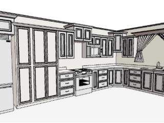 Proyecto: Mueble Cocina, Comedor y otros para Cliente en Desamparados, San José.