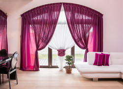 Elegant Drapes And Curtain