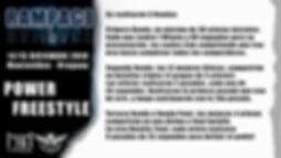 LOGO RAMPAGE 2020 Flyer POWER FREESTYLE.