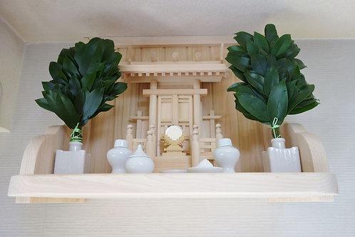 55cm神棚板+雲板(サイド)