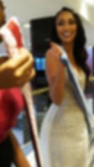 Girl holding Banner Bags 1