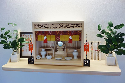 110cm神棚板+箱宮