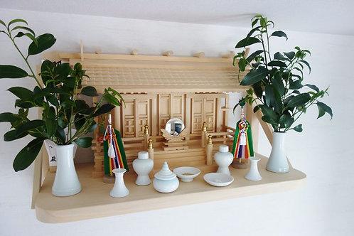 75cm神棚板(木曽桧)
