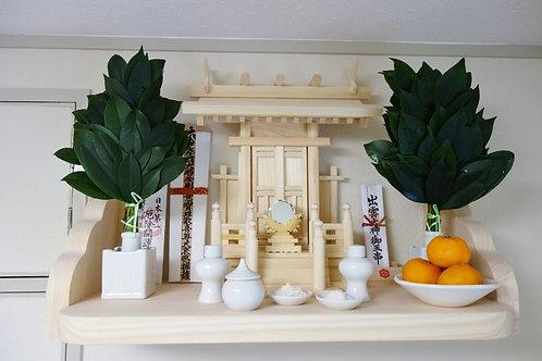 60cm神棚板+雲板(サイド)
