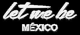 Logotipo let me be mex (bco).png