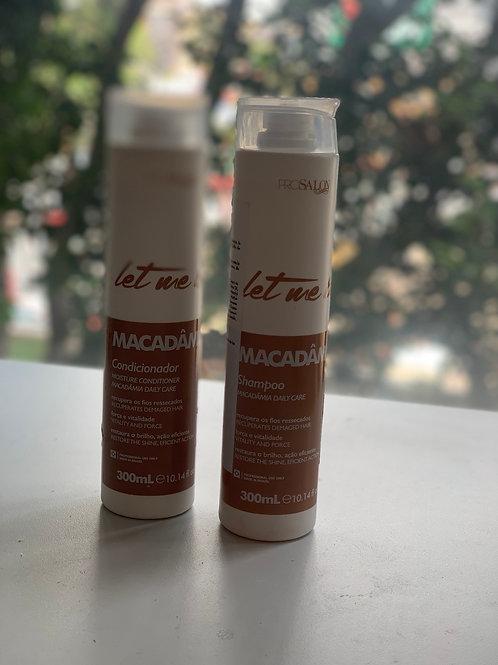 3 KIT Macadamia DUO home care