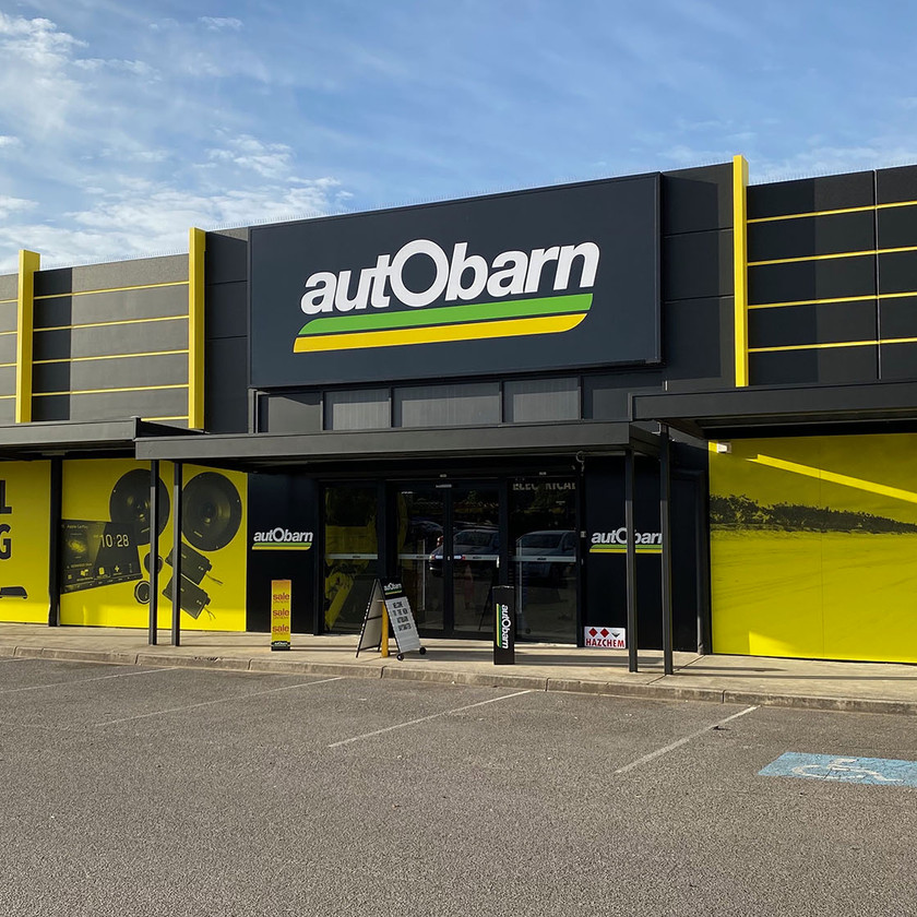 Autobarn new retail store design in Bayswater, VIC