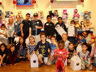 4th Annual Build a Bear Unites Children with Visual Impairment and Sighted Buddies