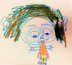 Aliyah self portrait with glasses