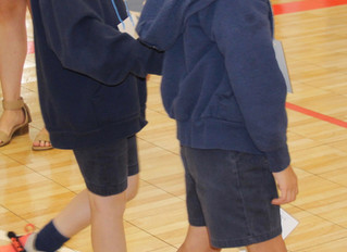 Opening Eyes: First Graders Experience Simulated Visual Impairment