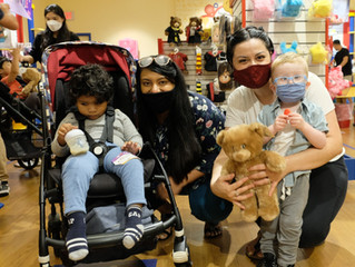5th Annual Build a Bear Unites Children with Visual Impairment and Sighted Buddies