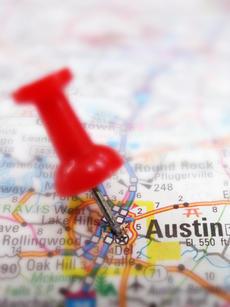 Map Austin