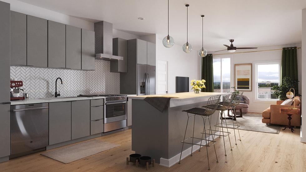 Cascade - Kitchen - Scheme B