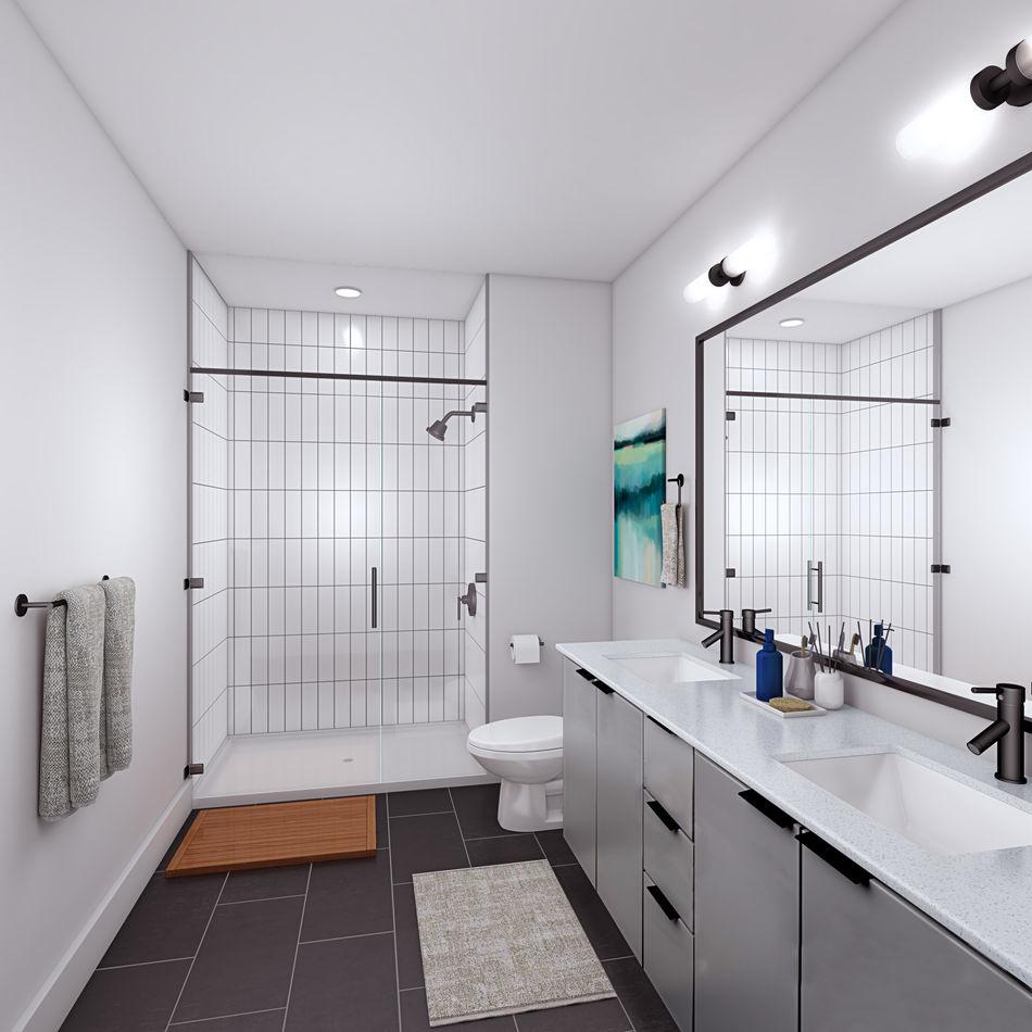 Axiom East Bathroom Interior