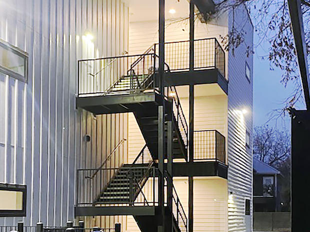 Open-Air Stairwell