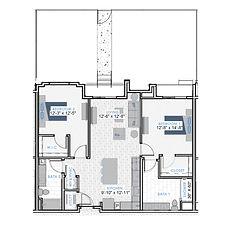 HOM Floor Plan Icons - B4+YARD
