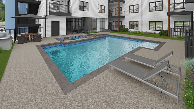 HOM Condos - Community Pool