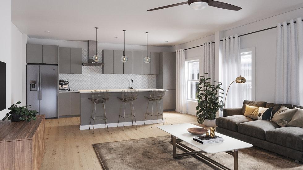 Cascade - Living Room - Scheme B