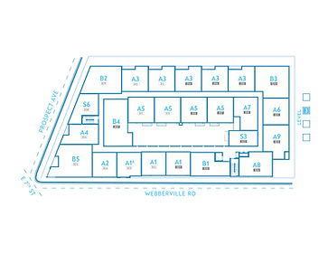Axiom East - Floorplates 2020 - LEVEL 3.