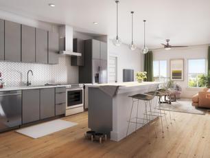 Cascade Kitchen Interior