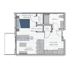HOM Floor Plan Icons - S1