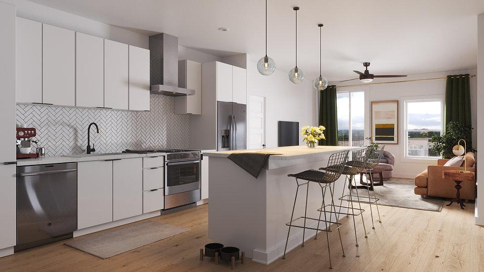 Cascade - Kitchen - Scheme A