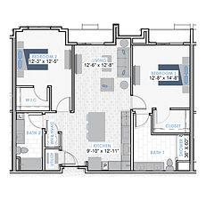 HOM Floor Plan Icons - B4