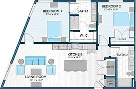 Axiom East | Floor Plans