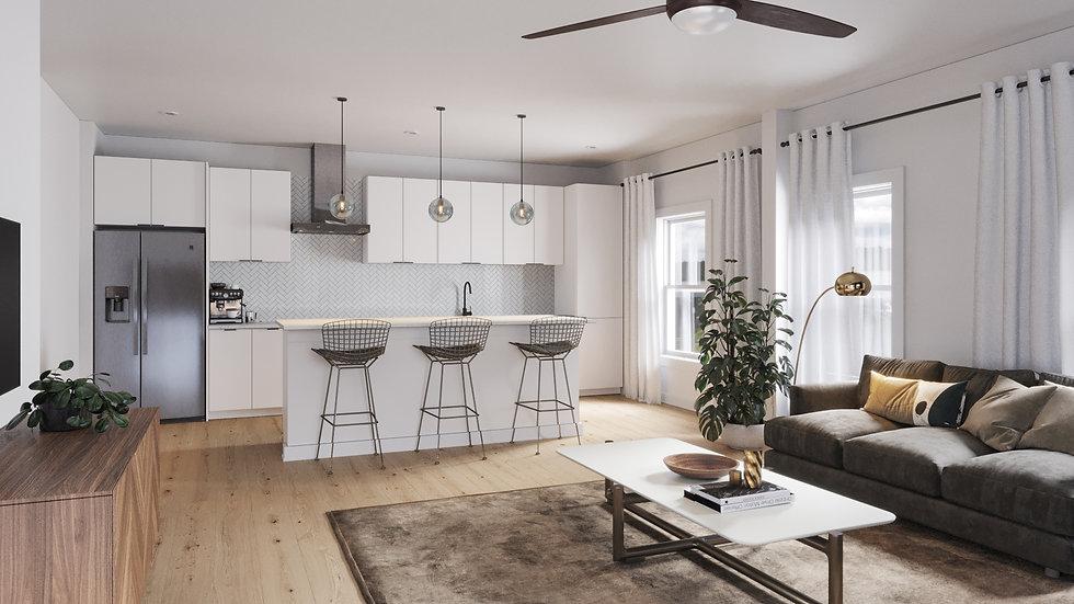 Cascade - Living Room - Scheme A