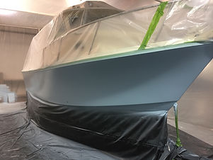 Yacht quality painting and boat restorations.