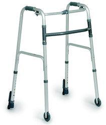 Deambulatore in alluminio anodizzato 2 rotelle