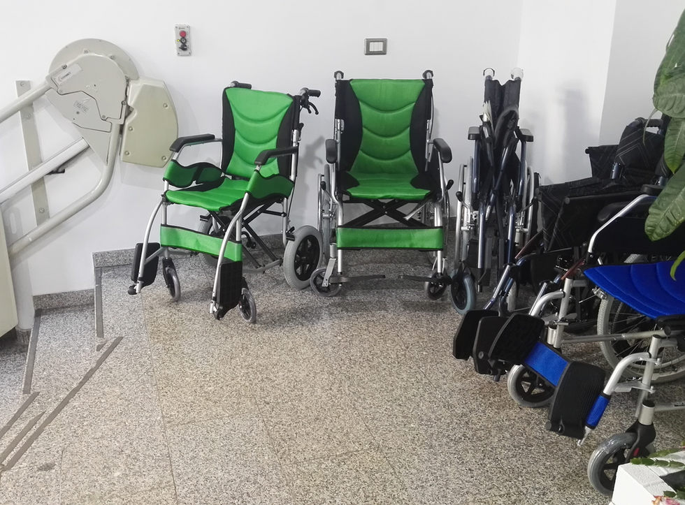 Ortopedia milano carrozzine