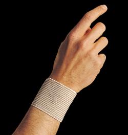 Dr. Gibaud - Polsino Righe Beige cm 6