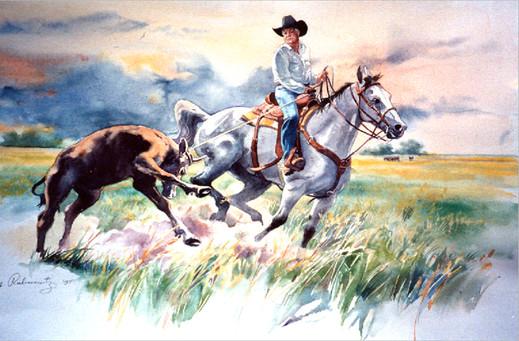 Calf Roper