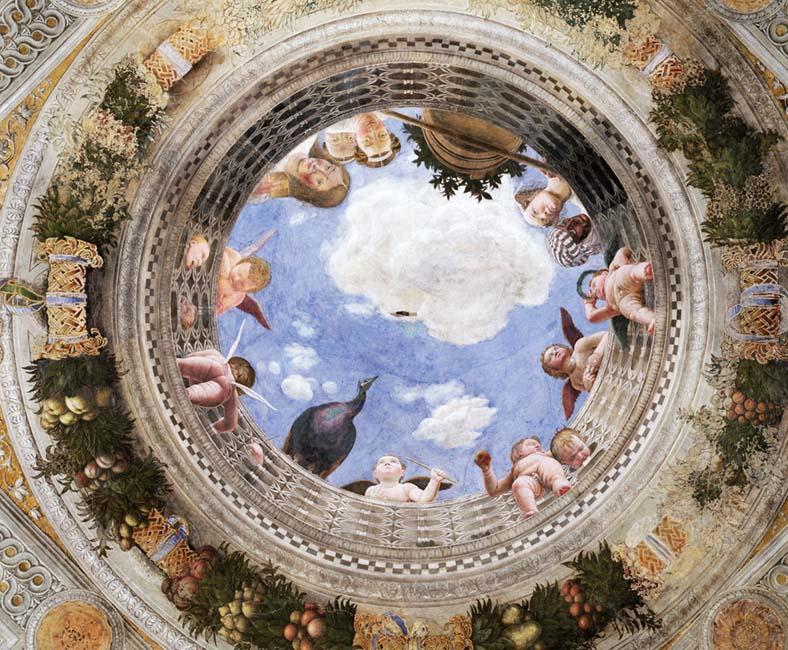 Camera degli Sposi oculo Andrea Mantegna