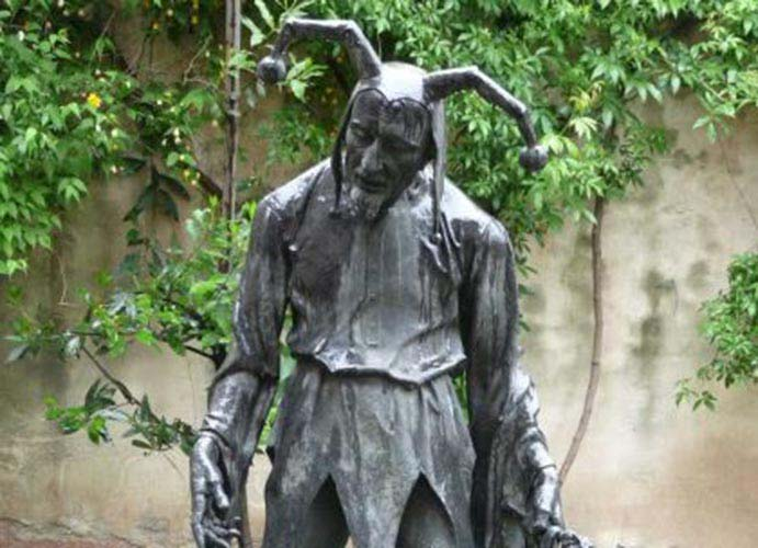 Rigoletto statua