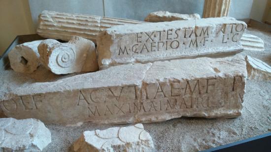 Mantova Romana di Virgilio Museo Archeologico Mantova