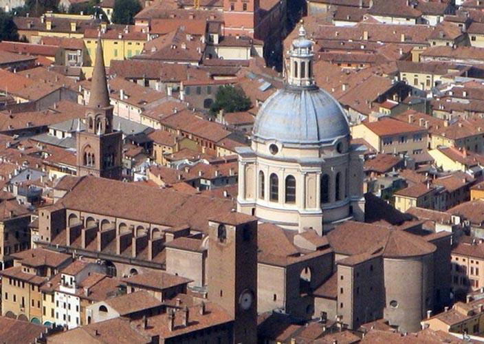 Sant'Andrea vista dall'alto