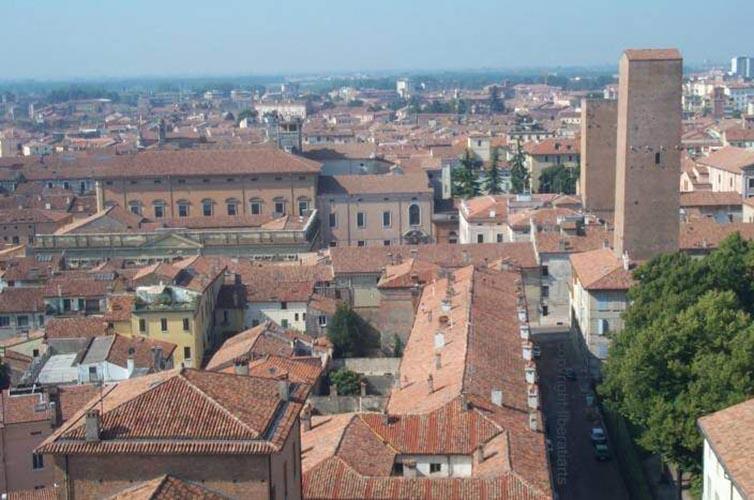 Mantova vista panoramica